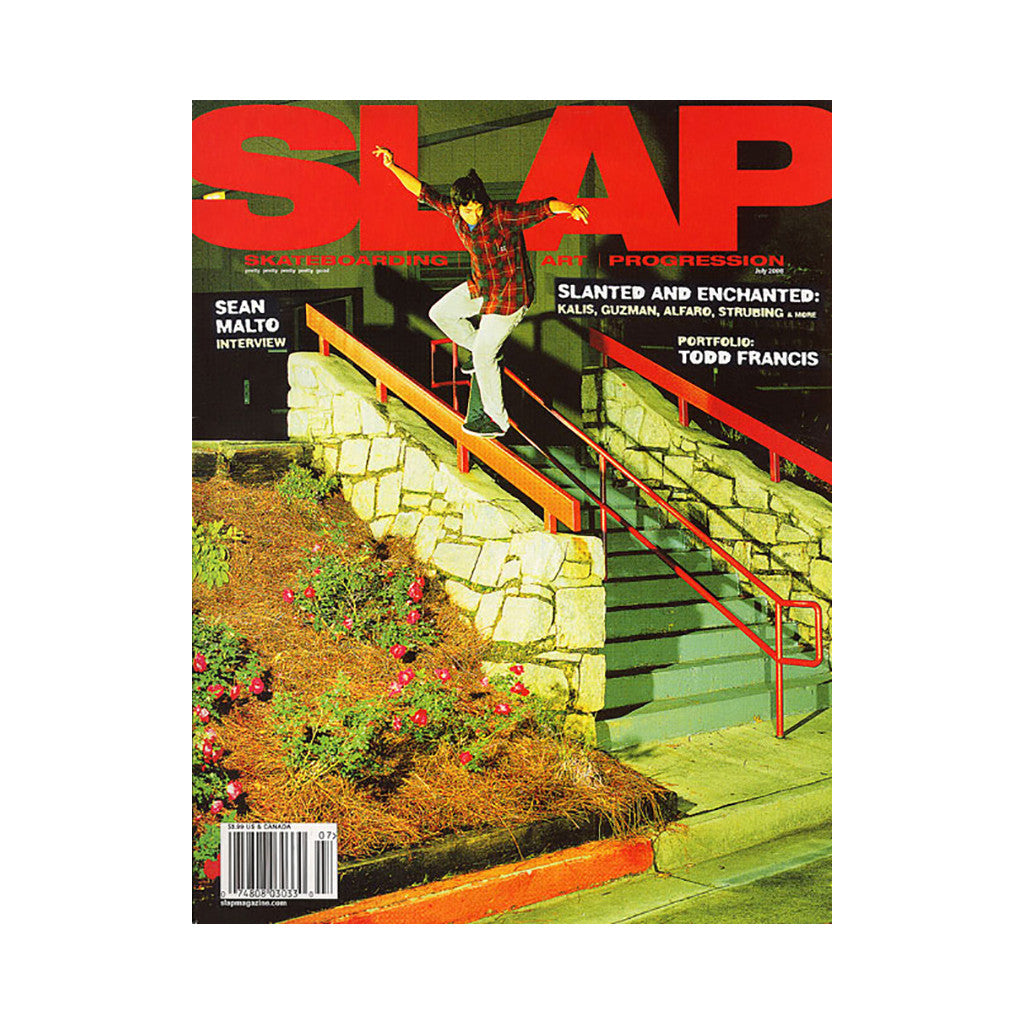 <!--020080620014152-->SLAP (Skateboarding, Life, Art, Progression) - 'Issue 194, July 2008' [Magazine]