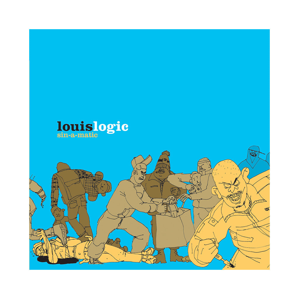<!--020030715002375-->Louis Logic - 'Sin-A-Matic' [(Black) Vinyl [2LP]]