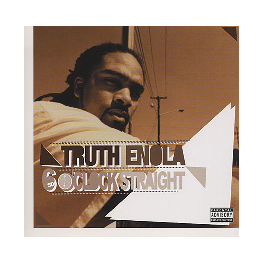 Truth Enola - '6 O'Clock Straight' [(Black) Vinyl [2LP]]