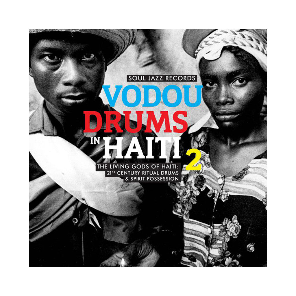 Various Artists - 'Vodou Drums In Haiti 2' [(Black) Vinyl [2LP]]