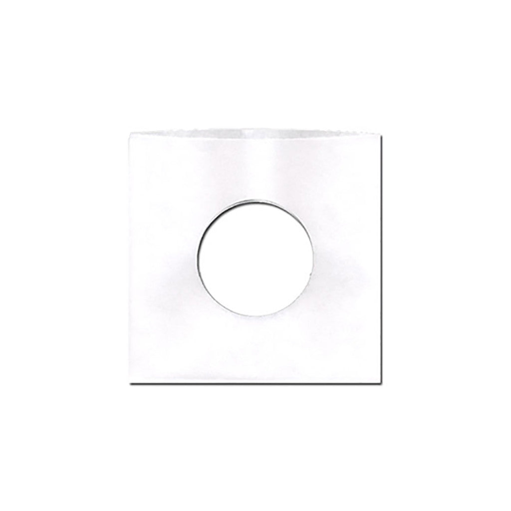 "<!--020090407016513-->Sound Sleeves - '7"" Vinyl Record Paper Inner-Sleeves (x100)' [(White) Sleeves & Jacket]"