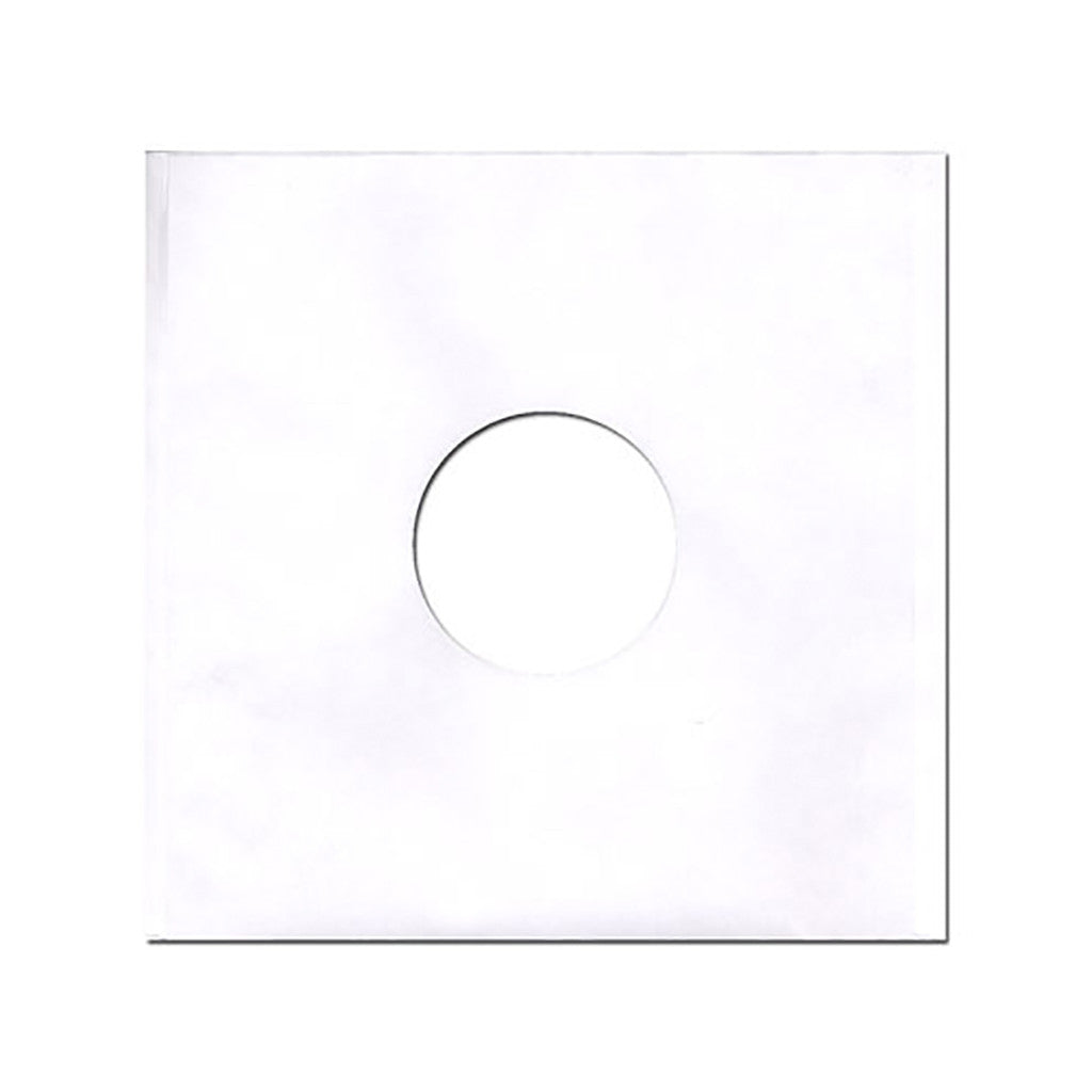"Sound Sleeves - '12"" Vinyl Record Paper Inner-Sleeves (x100)' [(White) Sleeves & Jacket]"