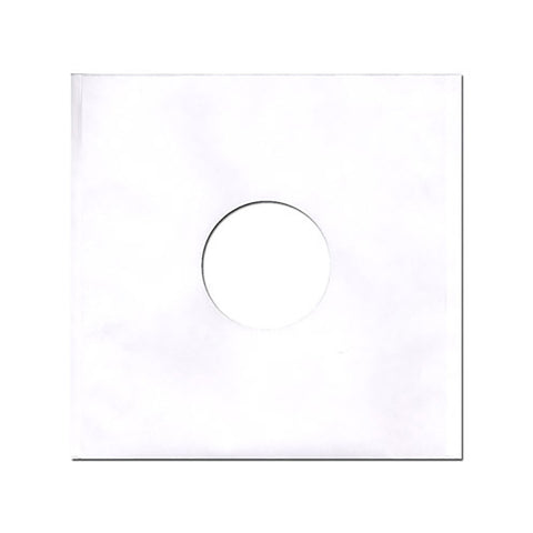 "Sound Sleeves - '12"""" Vinyl Record Paper Inner-Sleeves (x100)' [(White) Sleeves & Jacket]"