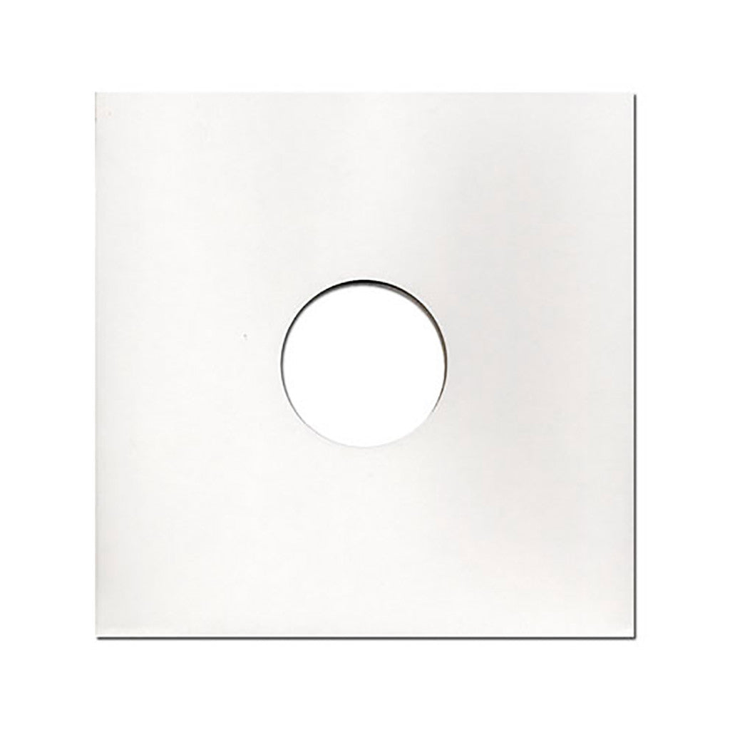 "<!--020090407016516-->Sound Sleeves - '12"" Vinyl Record Cardboard Jackets (x25)' [(White) Sleeves & Jacket]"