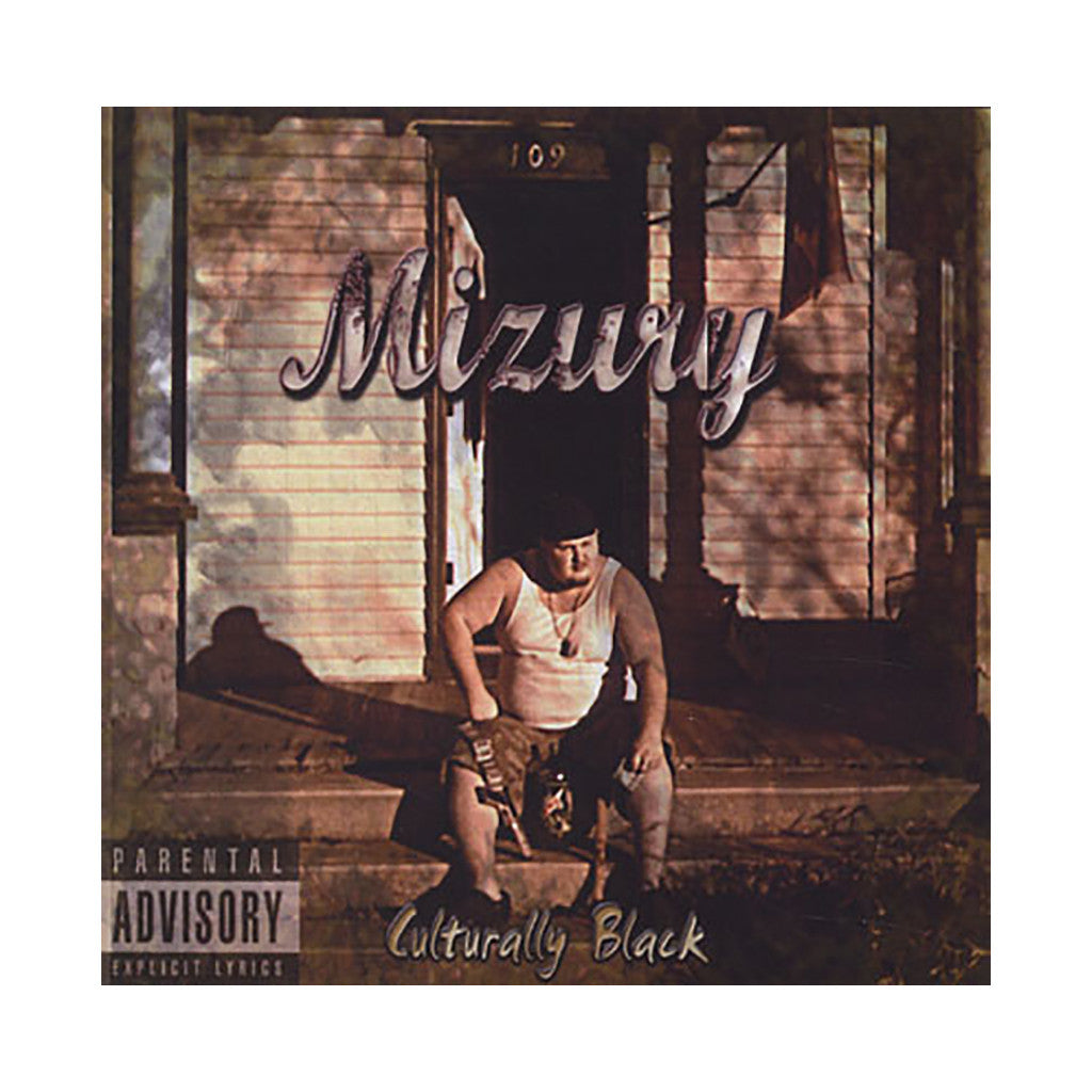 Mizury - 'Culturally Black' [CD]