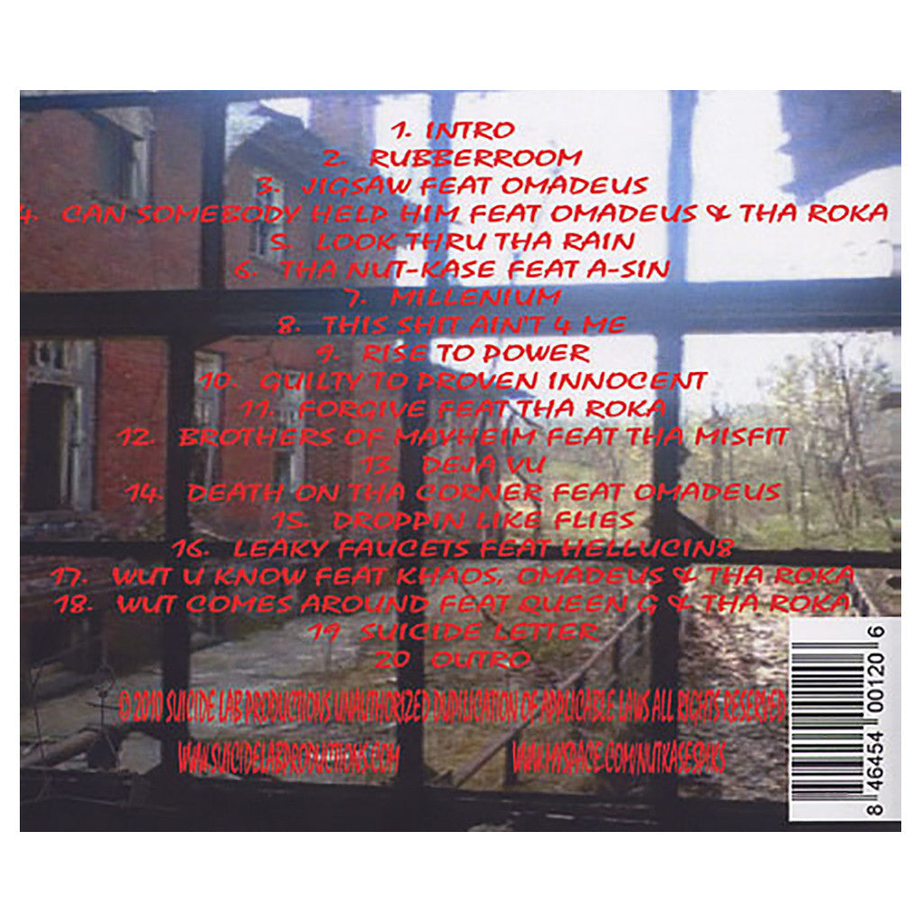 Tha Nutkase - 'The Rubberroom' [CD]