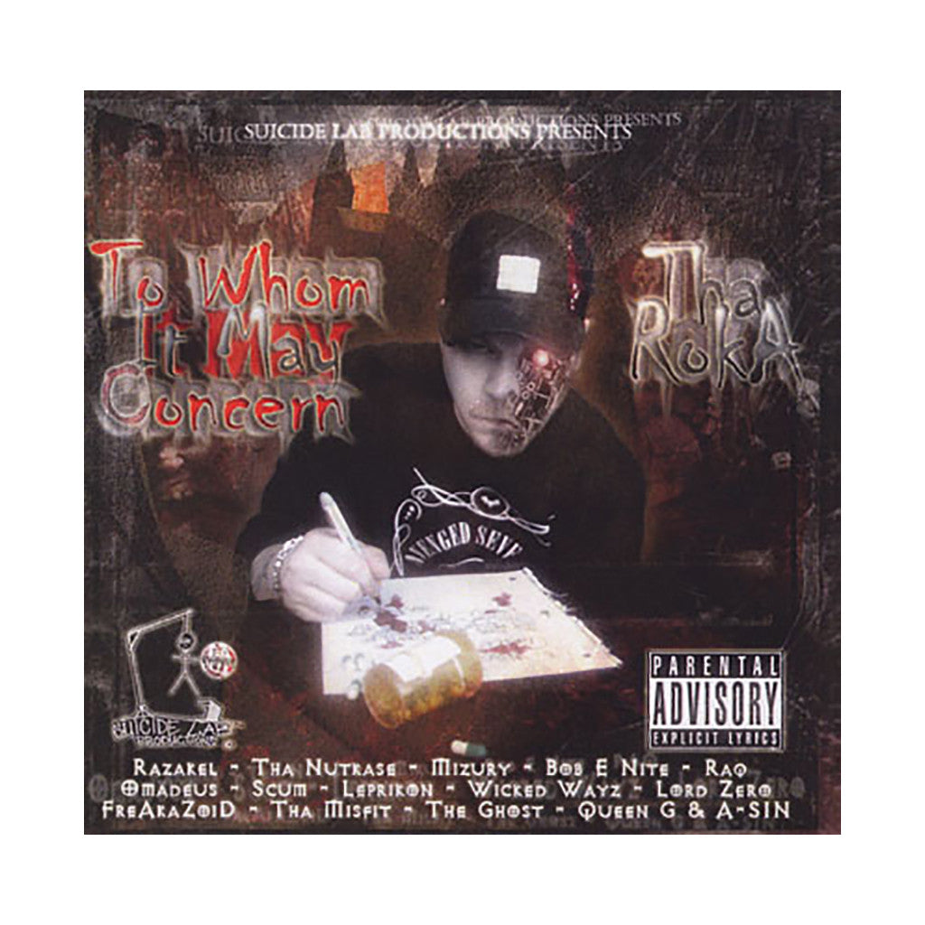 Tha Roka - 'To Whom It May Concern' [CD]