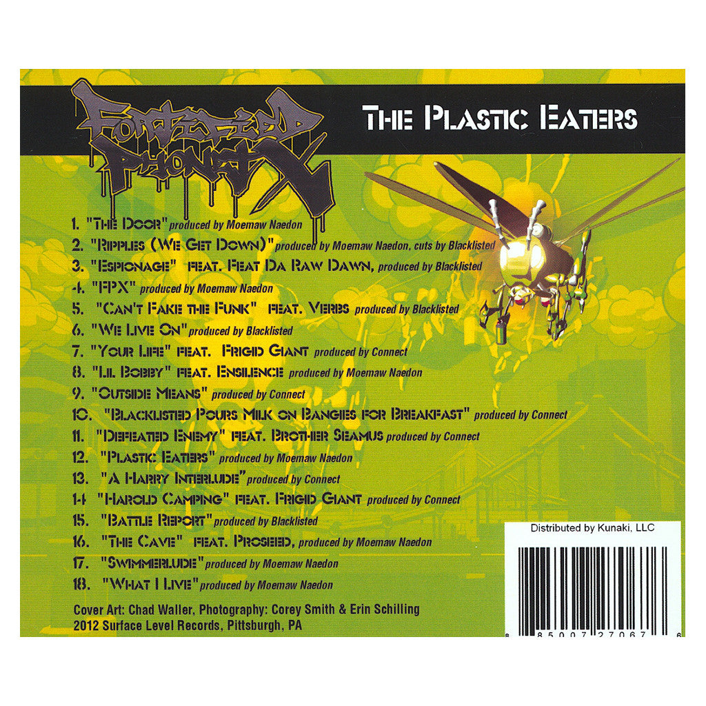 Fortified PhonetX - 'The Plastic Eaters' [CD]