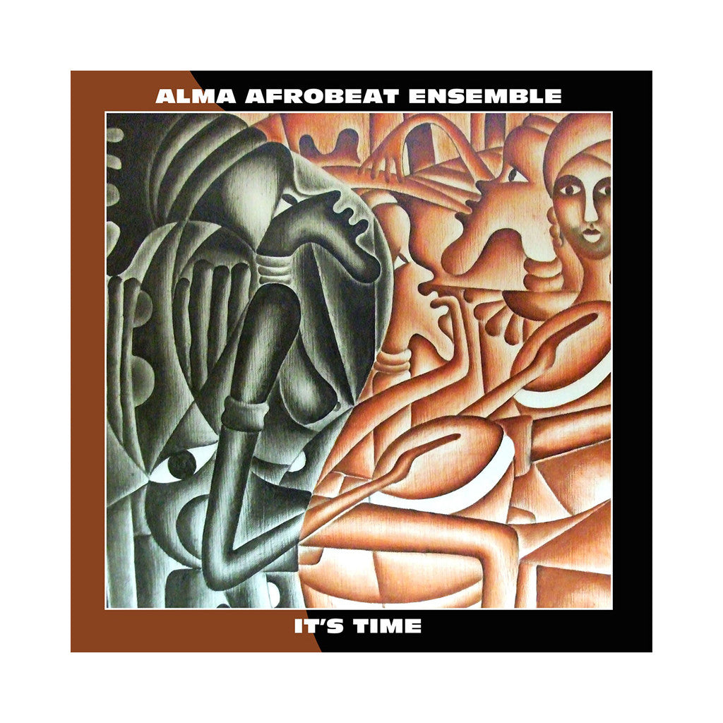 Alma Afrobeat Ensemble - 'It's Time' [CD]