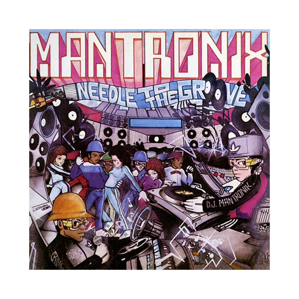 "<!--019850101005402-->Mantronix - 'Needle To The Groove' [(Black) 12"""" Vinyl Single]"