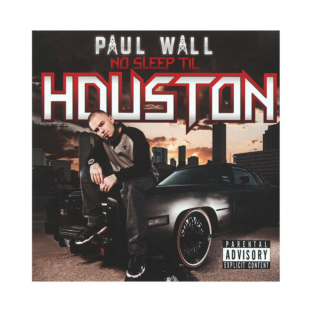 <!--020121204051371-->Paul Wall - 'No Sleep Til Houston' [CD]