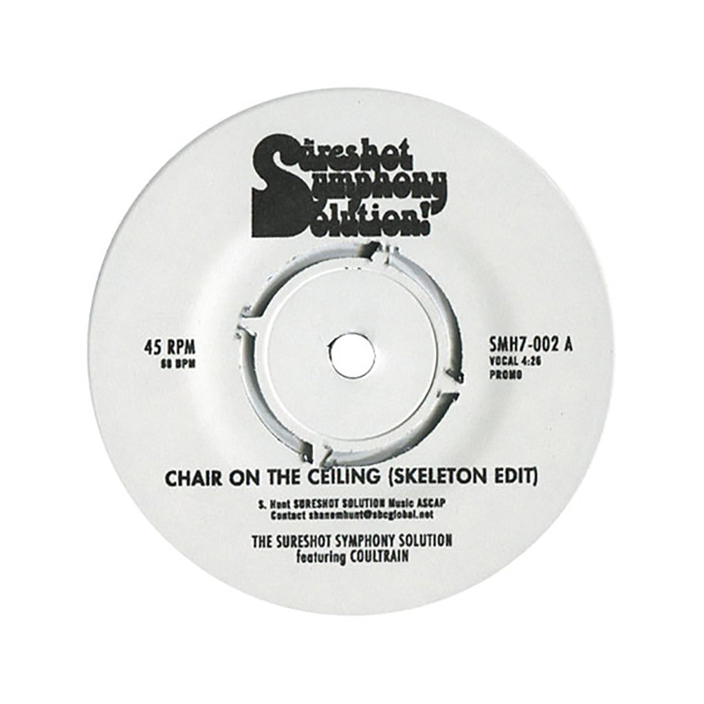 "<!--120110816034156-->The Sureshot Symphony Solution - 'Chair On The Ceiling (Skeleton Edit)' [(Black) 7"" Vinyl Single]"