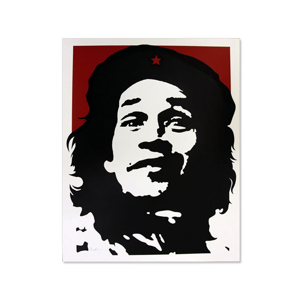 <!--019000101033452-->David Flores - 'Gonz - Red' [Posters & Prints]