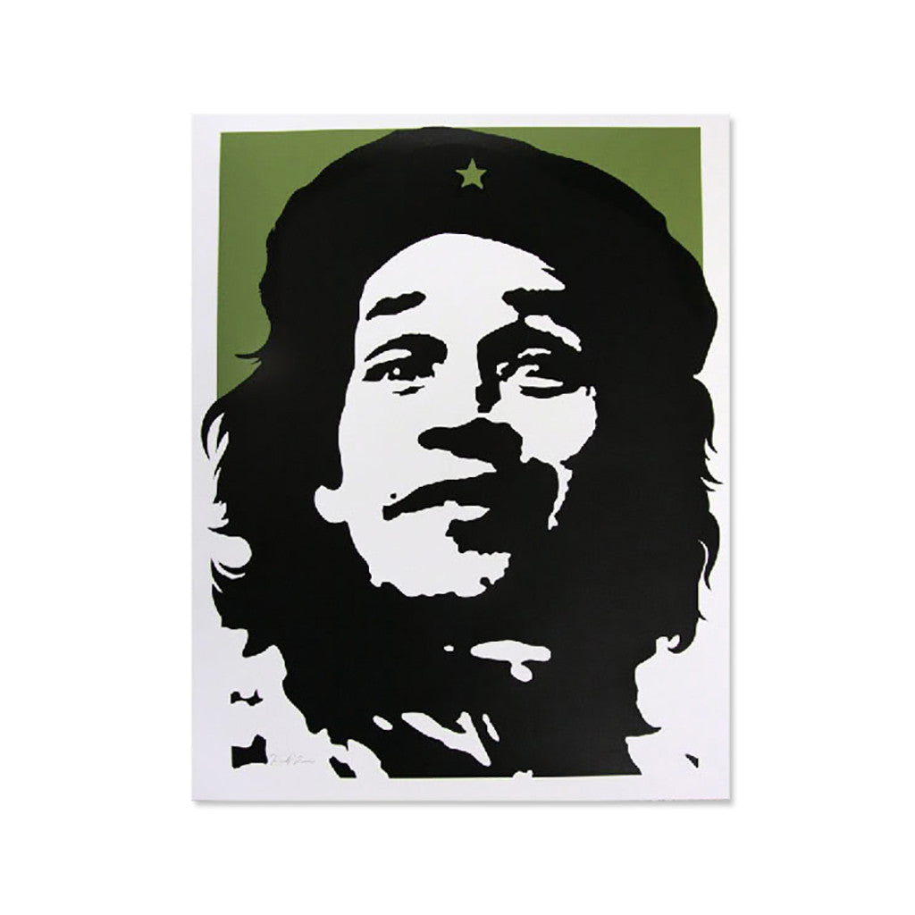 <!--019000101033453-->David Flores - 'Gonz - Green' [Posters & Prints]