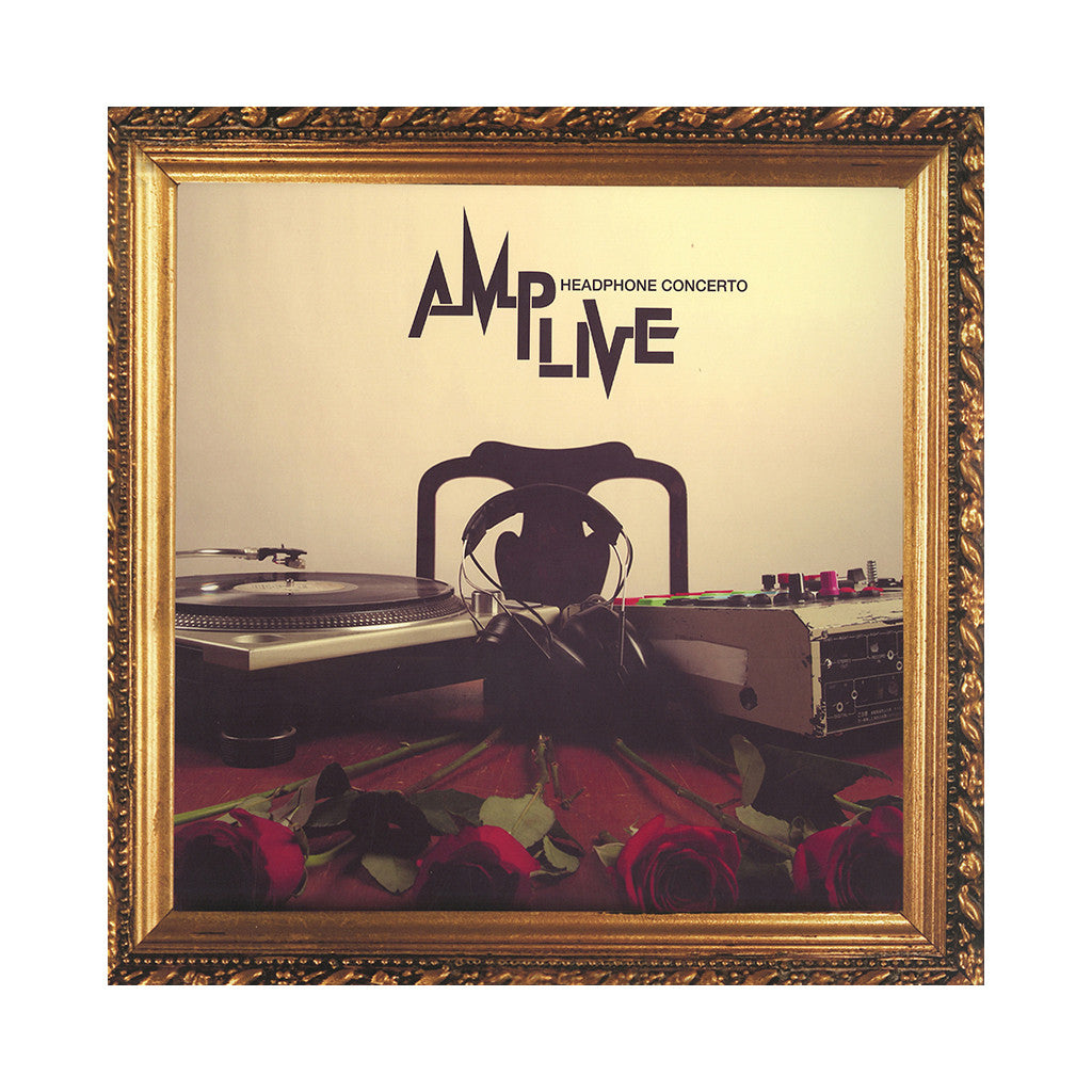 Amp Live - 'Headphone Concerto' [(Black) Vinyl [2LP]]