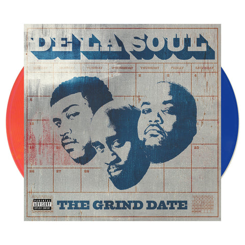 "[""De La Soul - 'The Grind Date' [(Orange + Blue) Vinyl [2LP]]""]"
