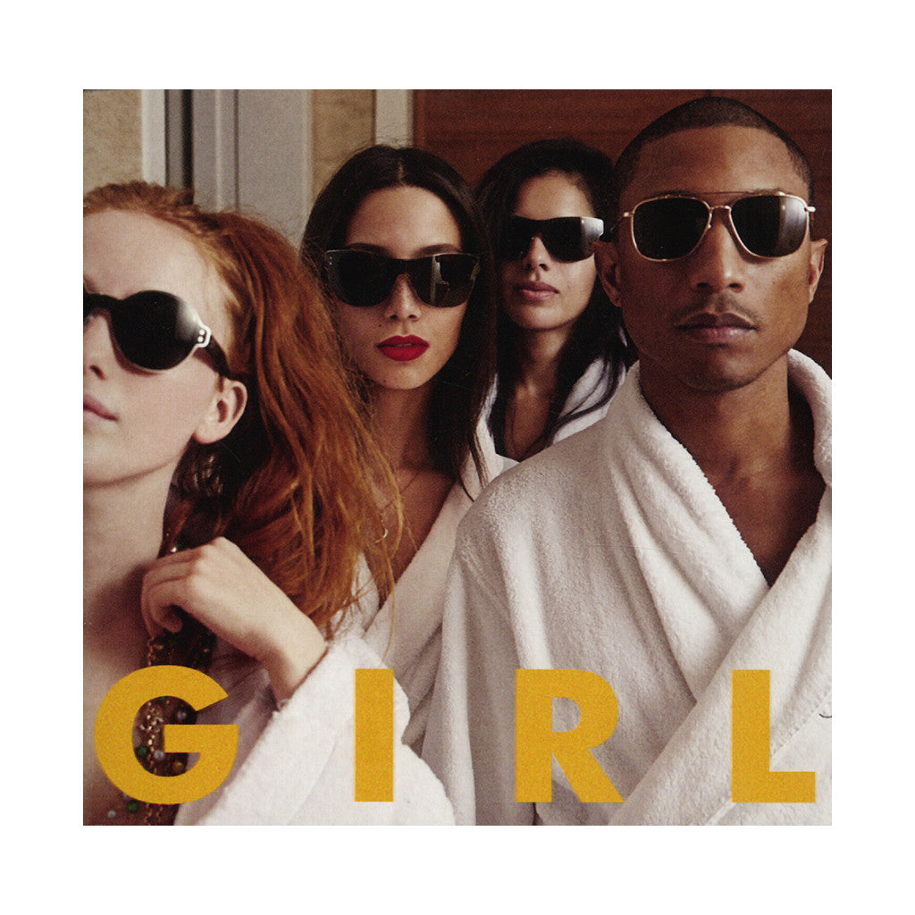 <!--120140513001728-->Pharrell Williams - 'G I R L (Girl)' [(Black) Vinyl LP]