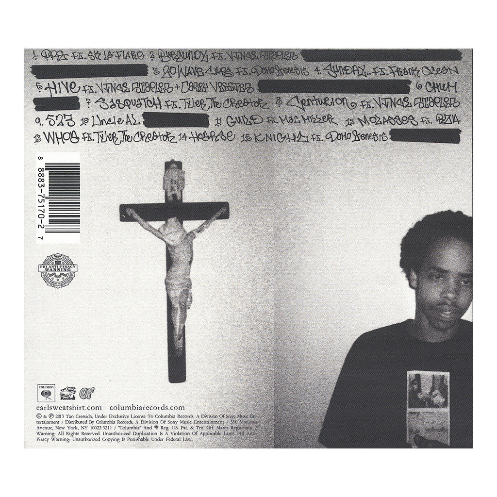 <!--120130820058627-->Earl Sweatshirt - 'Doris' [CD]