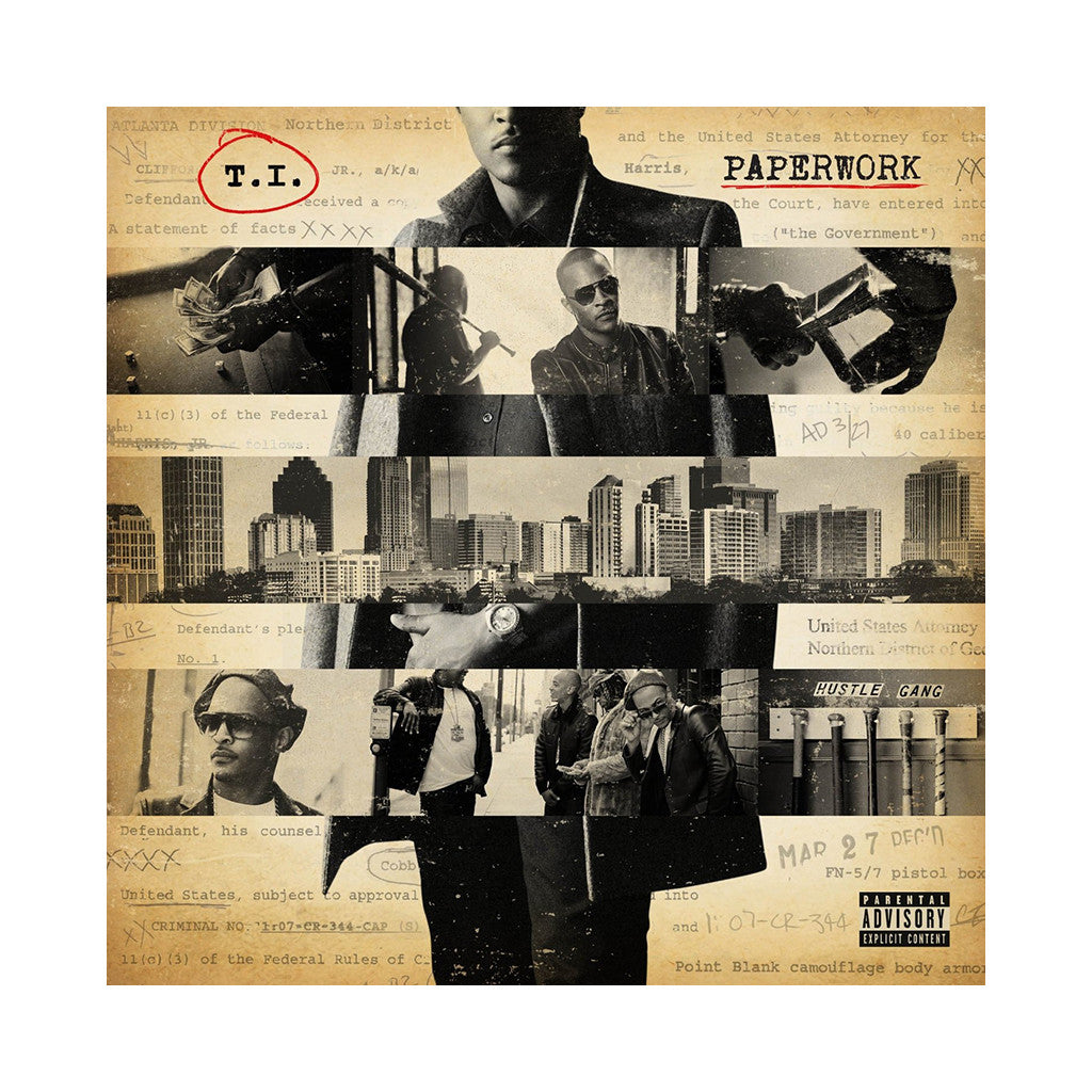<!--020141209000951-->T.I. - 'Paperwork (Deluxe Edition)' [(Black) Vinyl [2LP]]