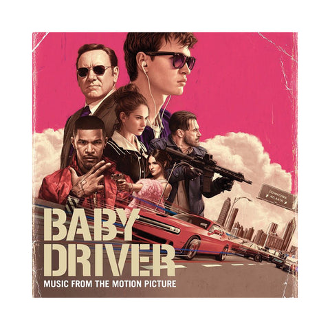 Various Artists (Compiled By: Danger Mouse) - 'Baby Driver (Music From The Motion Picture)' [(Black) Vinyl [2LP]]