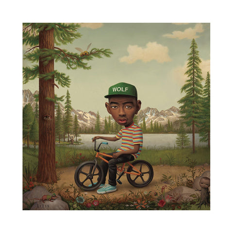 "[""Tyler, The Creator - 'Wolf (Deluxe Edition)' [(Bubblegum Pink) Vinyl [2LP]]""]"