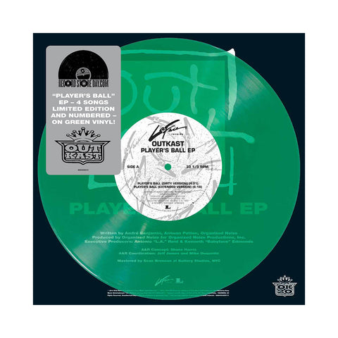 "[""OutKast - 'Player's Ball' [(Green) 10\"" Vinyl Single]""]"