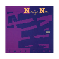 "<!--120131129060548-->Nasty Nas - 'Halftime/ Halftime (Butcher Remix)' [(Black) 12"" Vinyl Single]"