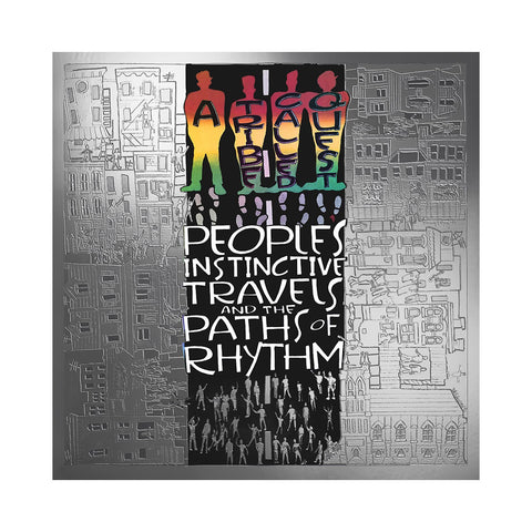 "[""A Tribe Called Quest - 'People's Instinctive Travels And The Paths Of Rhythm (25th Anniversary Edition)' [(Black) Vinyl [2LP]]""]"
