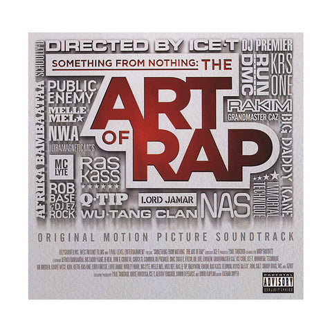Various Artists - 'Something From Nothing: The Art Of Rap (Original Soundtrack)' [CD]