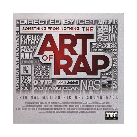 Various Artists - 'Something From Nothing: The Art Of Rap (Original Soundtrack)' [(Black) Vinyl [2LP]]