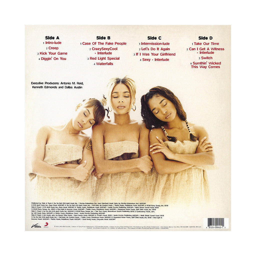 <!--120121002000660-->TLC - 'CrazySexyCool' [(Black) Vinyl [2LP]]
