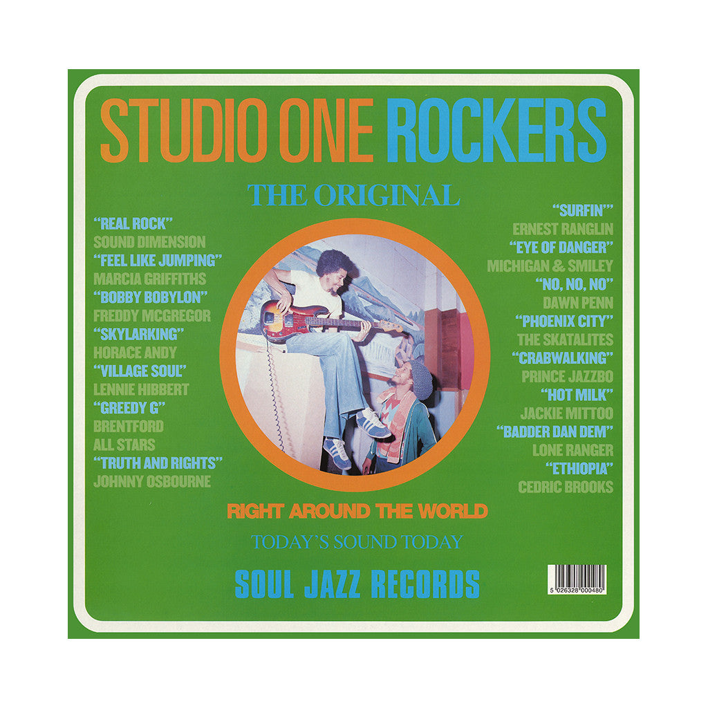 Various Artists - 'Studio One Rockers' [(Black) Vinyl [2LP]]