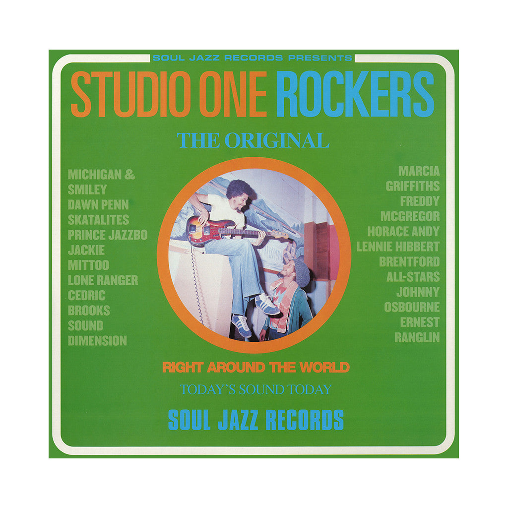 <!--120010102000245-->Various Artists - 'Studio One Rockers' [(Black) Vinyl [2LP]]