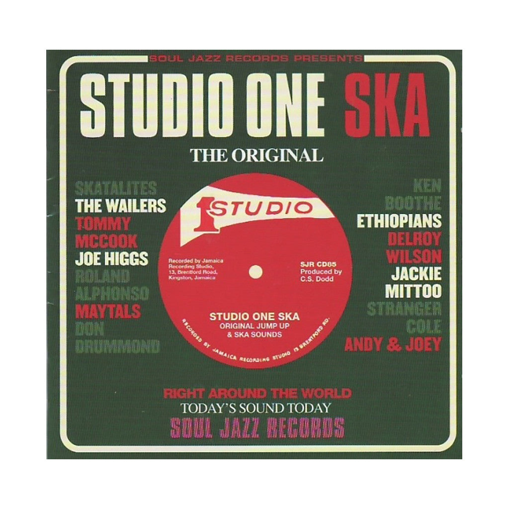 Various Artists - 'Studio One Ska' [(Black) Vinyl [2LP]]