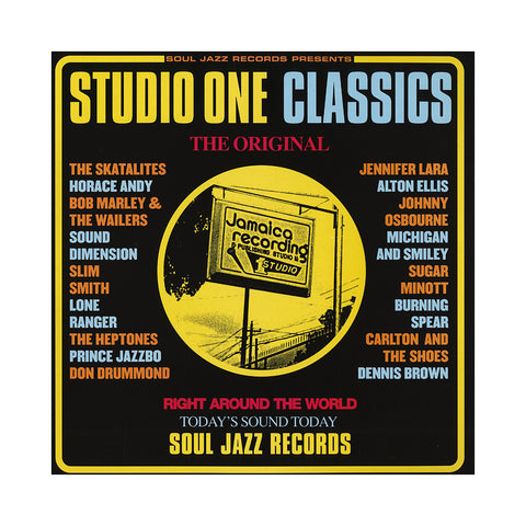 "[""Various Artists - 'Studio One Classics' [(Black) Vinyl [2LP]]""]"