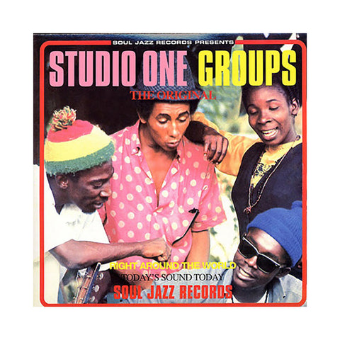 Various Artists - 'Studio One Groups' [(Black) Vinyl [2LP]]