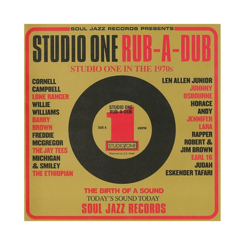 Various Artists - 'Studio One Rub-A-Dub' [(Black) Vinyl [2LP]]