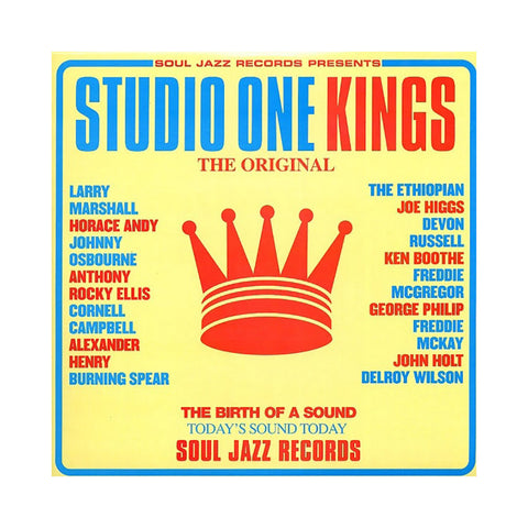 Various Artists - 'Studio One Kings' [(Black) Vinyl [2LP]]