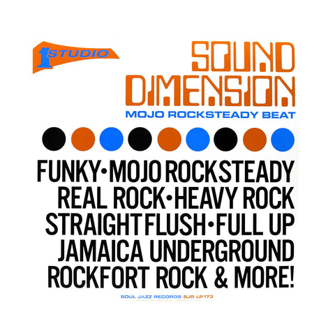Sound Dimension - 'Mojo Rocksteady Beat' [(Black) Vinyl [2LP]]