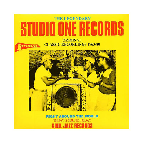 Various Artists - 'The Legendary Studio One Records: Original Classic Recordings 1963-1980' [(Black) Vinyl [2LP]]