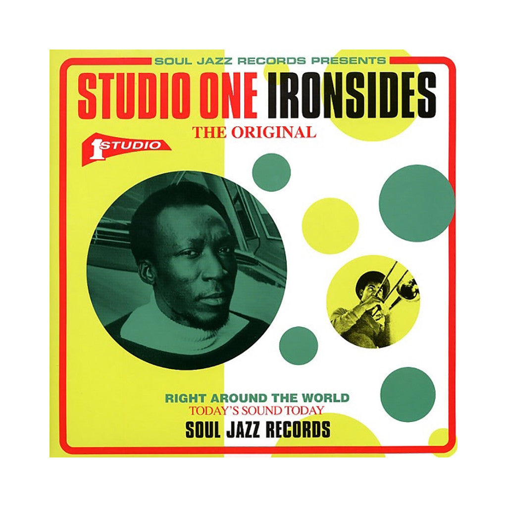 Various Artists - 'Studio One Ironsides' [(Black) Vinyl [2LP]]