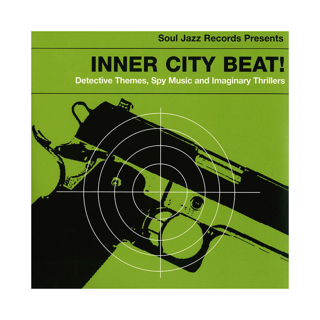<!--120140311062325-->Various Artists - 'Inner City Beat! Detective Themes, Spy Music And Imaginary Thrillers' [CD]
