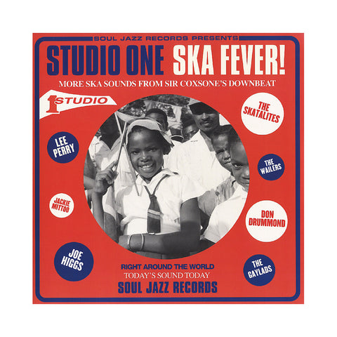 "[""Various Artists - 'Studio One Ska Fever! More Ska Sounds from Sir Coxsone's Downbeat' [(Black) Vinyl [2LP]]""]"