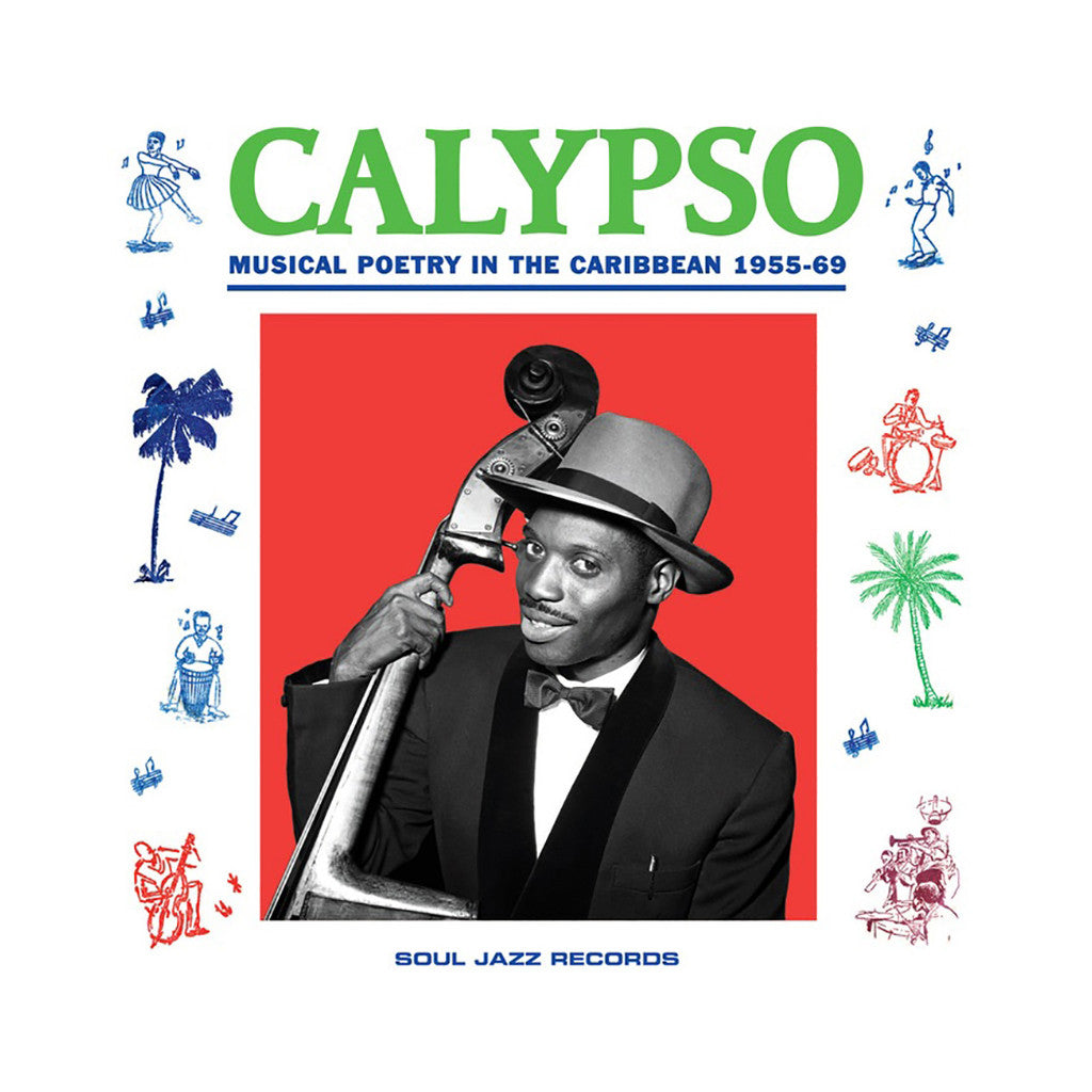 <!--2014060338-->Various Artists - 'Calypso: Musical Poetry In The Caribbean 1955-69' [(Black) Vinyl [2LP]]
