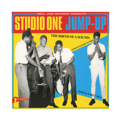 Various Artists - 'Studio One Jump Up: The Birth Of A Sound - Jump-Up Jamaican R&B, Jazz And Early Ska' [(Black) Vinyl [2LP]]