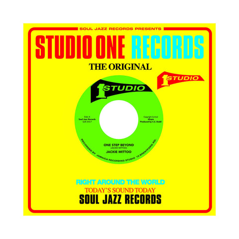 "Jackie Mittoo b/w Horace Andy - 'One Step Beyond b/w See A Man's Face' [(Black) 7"" Vinyl Single]"