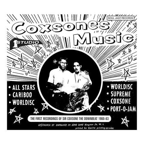 Various Artists - 'Coxsone's Music: The First Recordings of Sir Coxsone The Downbeat 1960-62 Vol. 1' [(Black) Vinyl [2LP]]
