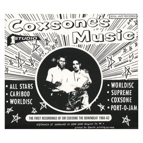 Various Artists - 'Coxsone's Music: The First Recordings of Sir Coxsone The Downbeat 1960-62 Vol. 2' [(Black) Vinyl [2LP]]