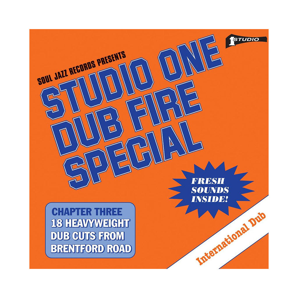 Various Artists - 'Studio One Dub Fire Special' [CD]