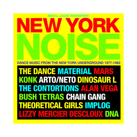 Various Artists - 'New York Noise Vol. 1: Dance Music From The New York Underground 1977-1982' [(Black) Vinyl [2LP]]